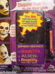 Halloween Voice Changer Walmart by New Voice Changer Modifier Monster Alien Halloween Scary Amplify