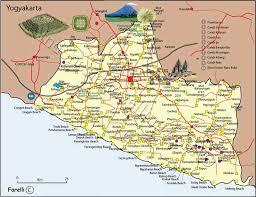 Central Java Map Jawa Tengah Mining Yogyakartanatural Recources