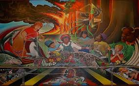 Denver International Airport Murals Painted Over by 25 Ludicrous Conspiracy Theories People Actually Believe
