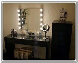 makeup mirror with light bulbs ikea lighted vanity