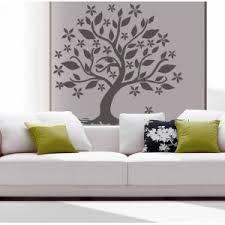 stickers pas cher stickers mural arbre jardin pas cher deco nature feuille fleur
