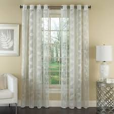 Blue Crushed Voile Curtains by Sheer Curtains Sheer Drapes And Curtains Sheer Panel Curtains