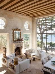 Bright Amp Airy Million Mediterranean Estate In Malibu W Antique Limestone Fireplace Stone Portals Reclaimed