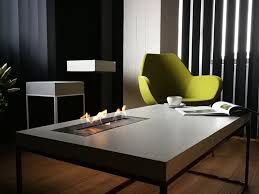 kamin couchtisch aus beton tabula cubiculo ignis by co33