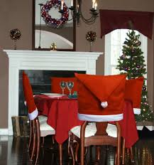 Amazon.com: Santa Hat Dining Room Chair Covers Set Of 6 Kitchen ... Subrtex Plaid Stretch Ding Room Chair Covers Slipcovers Shabby Chic Oversized Slipcover Knit Spandex Fabric Polyester Protective Kitchen Seating Parson Ikea Fxdlh 100 Butterfly For Weddingbanquet2pc High Back Ding Room Chair Covers House Wallpaper Hd Seat Leather How To Re Cover A Astonishing Table Your Home Design Shop Stretchy Thicken Plush Short