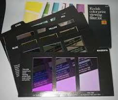 Kodak Color Print Viewing Kit R 25 Darkroom