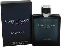 silver shadow by davidoff for eau de toilette 100ml