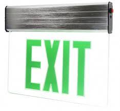 emergency exit lights total lights