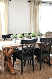 Tall Dining Room Chairs Best Farmhouse Table Ideas On Lovely Black