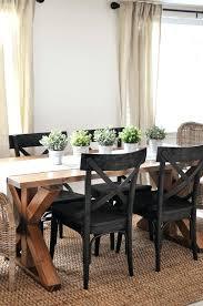 Tall Dining Room Chairs Best Farmhouse Table Ideas On Lovely Black