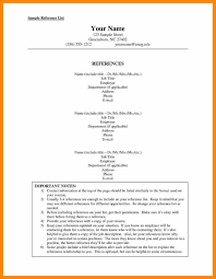 Resume Format With References Sample Lovely Free On Template