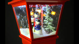Fiber Optic Christmas Trees The Range by Red Snowing Lamp Post Youtube