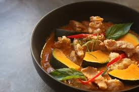Thai Green Pumpkin Curry Recipe by Panaeng Curry With Pork And Kabocha Squash Shesimmers