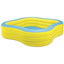 Inflatable Bathtub For Adults Online India by Intex Inflatable Beach Wave Swim Center Family Pool Walmart Com