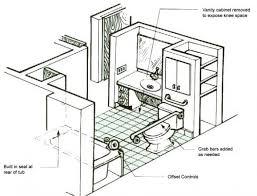 ada bathroom floor plans shower remodel