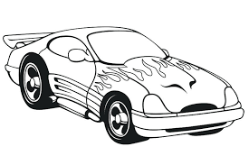 Full Image For Free Printable Coloring Pictures Of Cars Pages 2