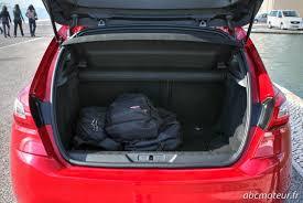 taille coffre nouvelle 308 taille coffre 308 28 images la nouvelle gamme peugeot 308 2011