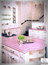 Kitchen Pink Accents Decornice Kitchens Decorating Ideas With A Color