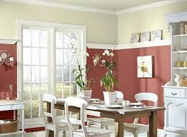 Dining Room Color Schemes Colour For Red Ideas Radiant Paint Large