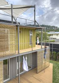 100 Shipping Container Guest House Spacious Home Exudes Stylish Sustainability