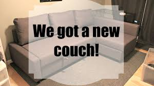 Ikea Sectional Sofa Bed Instructions by We Got A New Couch Ikea Friheten Assembly U0026 Review Youtube