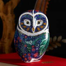 Periwinkle Owl Paperweight, 11cm | William Ashley China Winter Owl Paperweight Royal Crown Derby Collection Rspb Shop A Large Prestige Edition Paperweight Long Eared The Barn Gift 91papbox62729_07jpg Lot 250 Printed Mark Colctables Exclusive Collections Robin Happy Birthday Bear A Beswick Owl 1046 2 Porcelachina Pottery Porcelain Glass
