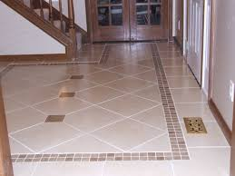 interior brilliant hallway space design with ceramic