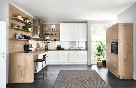 nolte u form küche weiß hochglanz steineiche