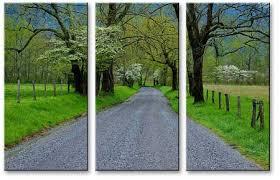 Set Of Tree Artist Canvas Split