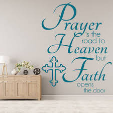 Image Is Loading Prayer The Road Wall Sticker Bible Verse