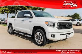 New 2019 Toyota Tundra Platinum 5.7L V8 Dallas TX   VIN ... Home Page Dfw Cars Auto Dealership In Dallas Texas New 2019 Toyota Tundra Sr5 57l V8 Wffv Special Edition Tx Ford F150 Truck Dealership Youtube Dallas Usa Apr 9 Freightliner Flatbed Trucks At The Company Builds Jeeps Trucks That Will Destroy Every Other Kenworth T680 Highroof Sleeper Semitrailer Mckinney Buick Gmc Used Cars Plano Commercial Dealer Sales Idlease Leasing Tow For Sale Wreckers Sam Packs Five Star Of Inventory Photos Videos Features