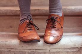 Shoes Oxford And Vintage Image