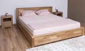 casa padrino landhausstil massivholz schlafzimmer set naturfarben 1 doppelbett 2 nachttische landhausstil schlafzimmer möbel