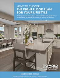 Get A Home Plan How To Choose The Right Floor Plan Richmond American Homes