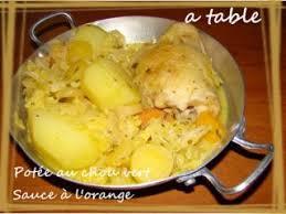 potée au chou vert sauce a l orange recette ptitchef