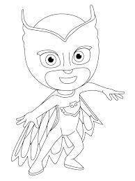 Gecko Coloring Pages S Gekko Pj Masks