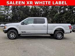 100 Saleen Truck New 2018 Ford F150 SALEEN XR WHITE LABEL SALEEN XR WHITE LABEL In