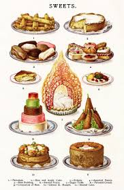 Sweets Pancakes Rice and Apple Cake Eclairs Assorted Pastry Rice Pudding