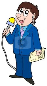Tv News Reporters Clipart
