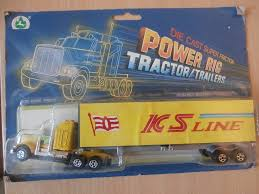 Die Cast Super Friction Power Rig Tractor Trailers X 5 - Toy Trucks ... Truck Trailer Toy First Gear Peterbilt 351 Day Cab With Dual Dump Trailers Farmer Farm Tractor And Kids Set Onle4bargains 164 Scale Model Truckisuzu Metal Diecast Trucks Semi Hauler Kenworth And Mack Unboxing Big 116 367 W Lowboy By Horse Hay Biguntryfarmtoyscom Bayer Equipment Custom Bodies Boxes Beds Amazoncom Daron Ups Die Cast 2 Toys Games A Camping Pickup