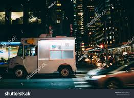 100 Ice Cream Truck Names White Food Parked On City Stock Photo Edit Now 1039818463