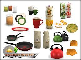 Solnys Breakfast Decorative Set