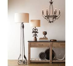Pottery Barn Floor Lamp Assembly by Madeline Chandelier Pottery Barn
