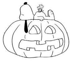 Snoopy Halloween Pumpkin Carving by It U0027s The Great Pumpkin Charlie Brown Coloring Pages Snoopy