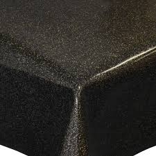 Molton Table Saver Tischdeckeunterlage Protective Pad With Glitter In Black