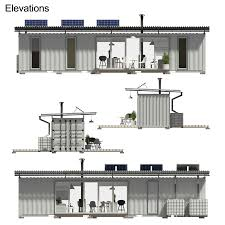 100 Shipping Container Cabin Plans 40ft House