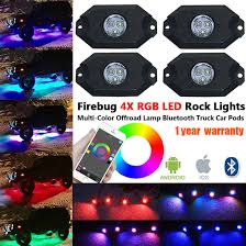Firebug 4 Pod RGB LED Rock Lights For Trucks & Jeep, RGB Rock Lights ... Oracle 1416 Chevrolet Silverado Wpro Led Halo Rings Headlights Bulbs Costway 12v Kids Ride On Truck Car Suv Mp3 Rc Remote Led Lights For Bed 2018 Lizzys Faves Aci Offroad Best Value Off Road Light Jeep Lite 19992018 F150 Diode Dynamics Fog Fgled34h10 Custom Of Awesome Trucks All About Maxxima Unique Interior Home Idea Prove To Be Game Changer Vdot Snow Wset Lighting Cap World Underbody Green 4piece Kit Strips Under