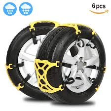 Amazon.com: Anti Snow Chains Of Car ,SUV Chain Tire Emergency ...