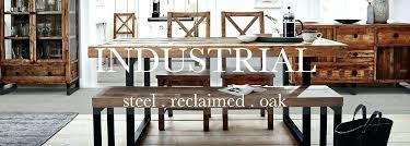 Industrial Dining Room Tables Set Reclaimed Wood Farmhouse Table