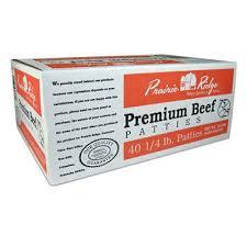 Sams Club Small Deck Box by Prairie Ridge Premium Beef Patties 10 Lbs 40 Ct Sam U0027s Club